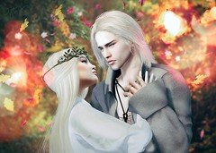 Selaehra + Aegarys (Jangsungyoung Resident) Tags: second life roleplay rp characters game thrones got fire blood westeros crownlands valyria valyrian celtigar