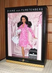 2006 Diane von Furstenberg Barbie (1) (Paul BarbieTemptation) Tags: 2006 gold label designer diane von furstenberg barbie sharon zuckerman