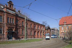 Vítkovice, Mírové náměstí (Tim Boric) Tags: vítkovice ostrava mírovénáměstí tram tramway streetcar strassenbahn tramvaj tatra t3 dpo