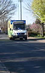 DSC_2870 Mercedes-Benz Sprinter 519 CDI Ambulance (PeaTJay) Tags: nikond750 sigma england uk lowerearley berkshire reading outdoors roadvehicle emergencyservices publicservices ambulance mercedesbenz