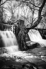 clinging to the edge (McMannis Photographic) Tags: fishingcreek longexposure southcarolina landscapeandnature travel water lando waterfall destination river photography creek explore fallingwater fluvial rapids sc southeast stream tourism whitewater blackandwhite hdr