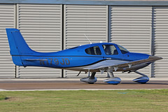 N179JD Cirrus SR22T North Weald 29th September 2018 (michael_hibbins) Tags: aeroplane aerospace aviation aircraft airplane air aero airfields airshow airport airports aeroexpo civil general plane planes civi united kingdom uk n179jd cirrus sr22t north weald 29th september 2018 n america american