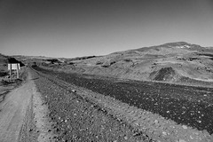 This particular section of gravel road was hard.