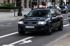 Poland (Lukow) - Audi A6 Avant C5 (PrincepsLS) Tags: poland polish license plate llu lukow germany berlin spotting audi a6 avant c5