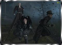 Aqualung Series ~ Sweet Dream or New Nightmares (0rco) Tags: aqualung secondlife crosseyedmary creepy scream gothic goth vampire run