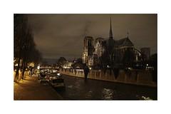 Notre Dame de Paris (Pier_re) Tags: notredame notredamedeparis paris france cathédrale seine bateau fleuve nuit sigma sigmasdquattro sigmaprophoto sigma1835 f18