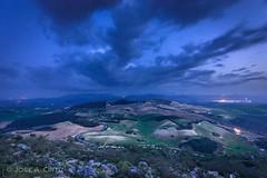 Sierra Sur (Jose A. Ortiz) Tags: naturaleza nocturna paisaje landscapes nubes nature sierra sur sevilla noche nocturno sony a77 sigma 1020