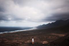 (Bazzerio) Tags: travel 35mm fujifilm adventure analog women mountain trek summer love grain x100f x100 fuerteventura cofete