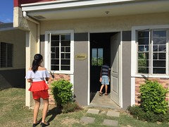 new bay villas we visited on Sunday (ghostgirl_Annver) Tags: asia asian villa ashley girl teen daughter sister house bay red white blue sky