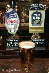 February 18th, 2019 Today's Tipple - Young Henrys Stayer Mid (karenblakeman) Tags: baroncadogan pub caversham uk beer ale younghernys stayermid 6packsessionblonde 2019 2019pad february reading berkshire loddonbrewery