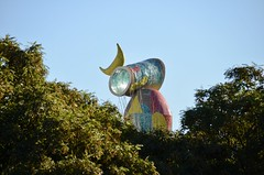 Cap d'una escultura de Joan Miró, Barcelona. (heraldeixample) Tags: heraldeixample bcn barcelona spain espanya españa spanien catalunya catalonia cataluña catalogne catalogna art sculptor contemporary miró ngc albertdelahoz joanmiró