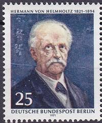 Deutsche Briefmarken (micky the pixel) Tags: briefmarke stamp ephemera deutschland bundespost berlin hermannvonhelmholtz physiologe physiker