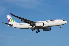 EC-MJS (hartlandmartin) Tags: ecmjs wamosair airbus a330200 bhx egbb birmingham elmdon landing aircraft airline airport aeroplane jet flight aviation plane transport nikon d7200 70300afp