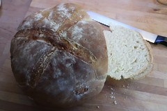 Frisch gebackenes Kanarisches Weißbrot (multipel_bleiben) Tags: essen zugastbeifreunden brot weisbrot spanisch