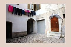 A corner of town (sandrorotonaria) Tags: white corner settefrati ciociaria bucato door window colors mood