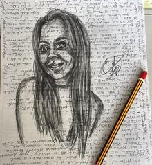 Y así estoy yo, más feliz que una perdiz... Dibujos rápidos en papeles usados... . . .. . #draw  #artlovers #artdaily #artist  #artoftheday #artofinstagram #drawing #woman #painting  #artwork  #instaart  #fotografia #photography  #фотография #artphoto #ta (egc2607) Tags: sketch artwork lapiz art tattoo artdaily bw artphoto artlovers artoftheday photography bellezza pencildrawing artist painter painting sensualidad instaart drawing zaragoza фотография fotografia beautifulgirl portrait woman crayon sensuality artofinstagram draw