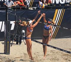 AVP ACTION (sandy flea) Tags: volleyball bikini beach avp