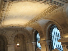 New York Public Library Entrance Hall Lobby 3623 (Brechtbug) Tags: new york public library entrance hall lobby 5th ave facade city interior stairs staircase stone marble 2019 nyc 03122019 art architecture designed by artist sculptor paul wayland bartlett carved the piccirilli brothers was two lions main branch stephen a schwarzman building consolidation astor lenox libraries beaux arts design style