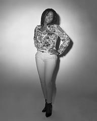 Blessing (Howard Sandler (film photos)) Tags: model portrait standing largeformat 4x5 graflex crowngraphic schneiderkreuznach xenar fp4 film blackandwhite xtol flashbulb heiland