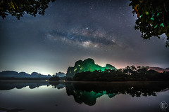Milky Way - 7 Nongtalay | Krabi Thailand (kachaneawsuparp) Tags: sony sonya7rii summer thailand krabi nongtalay 1635 1635gm 16mm 1635mm emount 35mm fe fullframe f28 gm gmaster g a7rii a7 asia aisa milkyway mountain lens landscape l 35 star