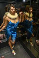 DSC_1711 Alesha from Jamaica Mirror Reflection New Blue Cocktail Dress Photo Shoot at The Nobu Japanese Hotel Bar Willow Street Shoreditch London (photographer695) Tags: alesha from jamaica new blue cocktail dress the nobu japanese hotel bar willow street shoreditch london mirror reflection photo shoot