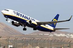 EI-EBW (GH@BHD) Tags: eiebw boeing 737 738 737800 b737 b738 fr ryr ryanair ace gcrr arrecifeairport arrecife lanzarote aircraft aviation airliner
