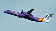 G-FLBC (AnDyMHoLdEn) Tags: flybe dash8 bombardier egcc airport manchester manchesterairport 23r