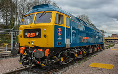 47749 (47843 Vulcan) Tags: 47749 cityoftruro class47 477 brush sulzer brblue gbrf railservices ukrl leicester