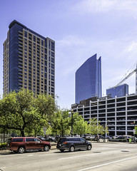 609 Main at Texas Building - Milam at Preston 2 (Mabry Campbell) Tags: 609mainattexas harriscounty hines houston pickardchilton texas usa architecture building downtown image photo photograph skyscraper tower f71 mabrycampbell march 2019 march272019 20190327609campbellh6a6542 24mm ¹⁄₅₀₀sec 100 tse24mmf35lii