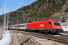 ÖBB 1216 013-3 Eurocity, Brennerpass (TaurusES64U4) Tags: öbb taurus es64u4 1216