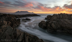 Table Mountain was Calling (Panorama Paul) Tags: paulbruinsphotography wwwpaulbruinscoza southafrica westerncape capetown tablemountain blaauwbergbeach sunset pink nikond800 nikkorlenses nikfilters