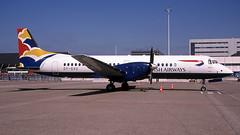 OY-SVU 2004-05-28 AMS (Gert-Jan Vis) Tags: oysvu bae atp 2063 britishairways sunair vinger schiphol kodachrome