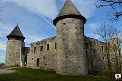Frankopanski grad Novigrad na Dobri (Ivica Pavičić) Tags: castle novigrad croatia stone walls towers medieval architecture historic sky