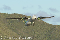 DSC_7207Pwm (T.O. Images) Tags: fomyn air antilles atr72 sxm st maarten princess juliana airport
