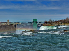 Views from Around Niagara Falls (George Neat) Tags: niagara falls ny new york water river rocks bridge usa canada natural wonder clouds sky outside scenic scenery landscapes waterfalls landmark border cliffs georgeneat patriotportraits neatroadtrips