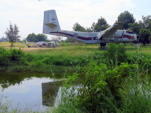 12271 / De Havilland Canada DHC-4A Caribou / cn 271 / Camp Naresuan / Hua Hin / 30Dec18 /