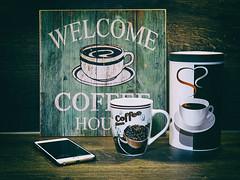 Kaffeepause (ingrid eulenfan) Tags: 2019 kaffeepause coffeebreak 365project kafffee coffee cup coffeepot tasse