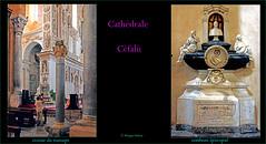 Cathédrale de Céfalù © sicile (philippedaniele) Tags: cathédraledecéfalù céfalù sicile croiséedutransept fontsbaptismaux tombeau pilier chapiteaux