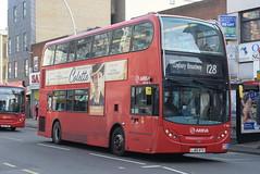 AL T192 @ Hainault Street, Ilford (ianjpoole) Tags: arriva london alexander dennis enviro 400 lj60atv t192 working route 128 romford train station claybury broadway