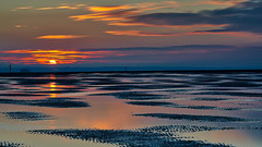 Winner Bank Golden Hour (fstop186) Tags: winnerbank haylingisland sunset goldenhour solent sand bigstopper longexposure sea blur movement formatthitech firecrest filter nd3 10stop