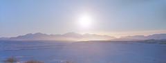 Brooks Range at Noon (musubk) Tags: film analog kodak alaska winter cold snow snowy panorama large format 4x5 2x5