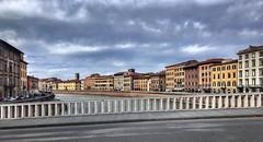 Ponte di Mezzo (aiva.) Tags: italy pisa italia panorama river bridge arno toscana tuscany