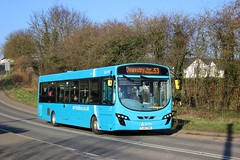 Arriva Midlands  - FL63DXW, 3788 (M.R.P Photography) Tags: arriva arrivamidlands deutschebahn vdl vdlsb200 wrightbus wrightpulsar2 fl63dxv 3787