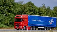 BL55549 (18.07.18, Motorvej 501, Viby J)DSC_5199_Balancer (Lav Ulv) Tags: 255516 daf dafxf xfeuro6 agrohandeltransport tricoloretransportlogistics e6 euro6 xf460 6x2 red curtainside planentrailer gardintrailer kronetrailer drivermichael 2017 truck truckphoto truckspotter traffic trafik verkehr cabover street road strasse vej commercialvehicles erhvervskøretøjer danmark denmark dänemark danishhauliers danskefirmaer danskevognmænd vehicle køretøj aarhus lkw lastbil lastvogn camion vehicule coe danemark danimarca lorry autocarra danoise vrachtwagen motorway autobahn motorvej vibyj highway hiway autostrada trækker hauler zugmaschine tractorunit tractor artic articulated semi sattelzug auflieger trailer sattelschlepper vogntog oplegger sættevogn schlepper