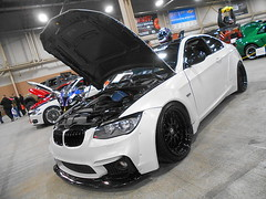 2012 BMW 335i (splattergraphics) Tags: 2012 bmw 335i widebody customcar carshow motorama pafarmshowcomplex harrisburgpa