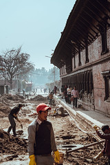 Hard Work (danielhibell) Tags: kathmandu nepal travel asia discover explore world street streetphotography people religion culture ambience mood buddhism hinduism colour light praying moving special
