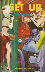 First Niter Books 243 - Myron Kosloff - Set Up (swallace99) Tags: firstniter vintage 60s sleaze paperback ericstanton