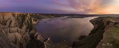 Las Barrancas de Burujón (H.M.MURDOCK) Tags: burujón toledo barrancas panorámica ocaso nikon d610 paisajes