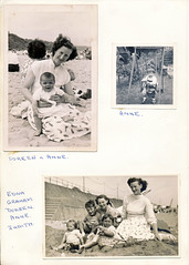 IMG_0098 Doreen Stones nee Patchett with Anne and Judith. This Album was put together by Jean Spafford nee Patchett aka Bunty for her Mother Francis Patchett (photographer695) Tags: ron doreen stones nee patchett with anne pat scunthorpe this album was put together by jean spafford aka bunty for her mother francis judith