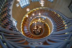 Heal's Department Store, London, England (IHP) Tags: london 2018 2470 staircase structure architecture symmetry treppe spirale treppenhaus abstrakt symmetrie fibonacci sigma fisheye 15